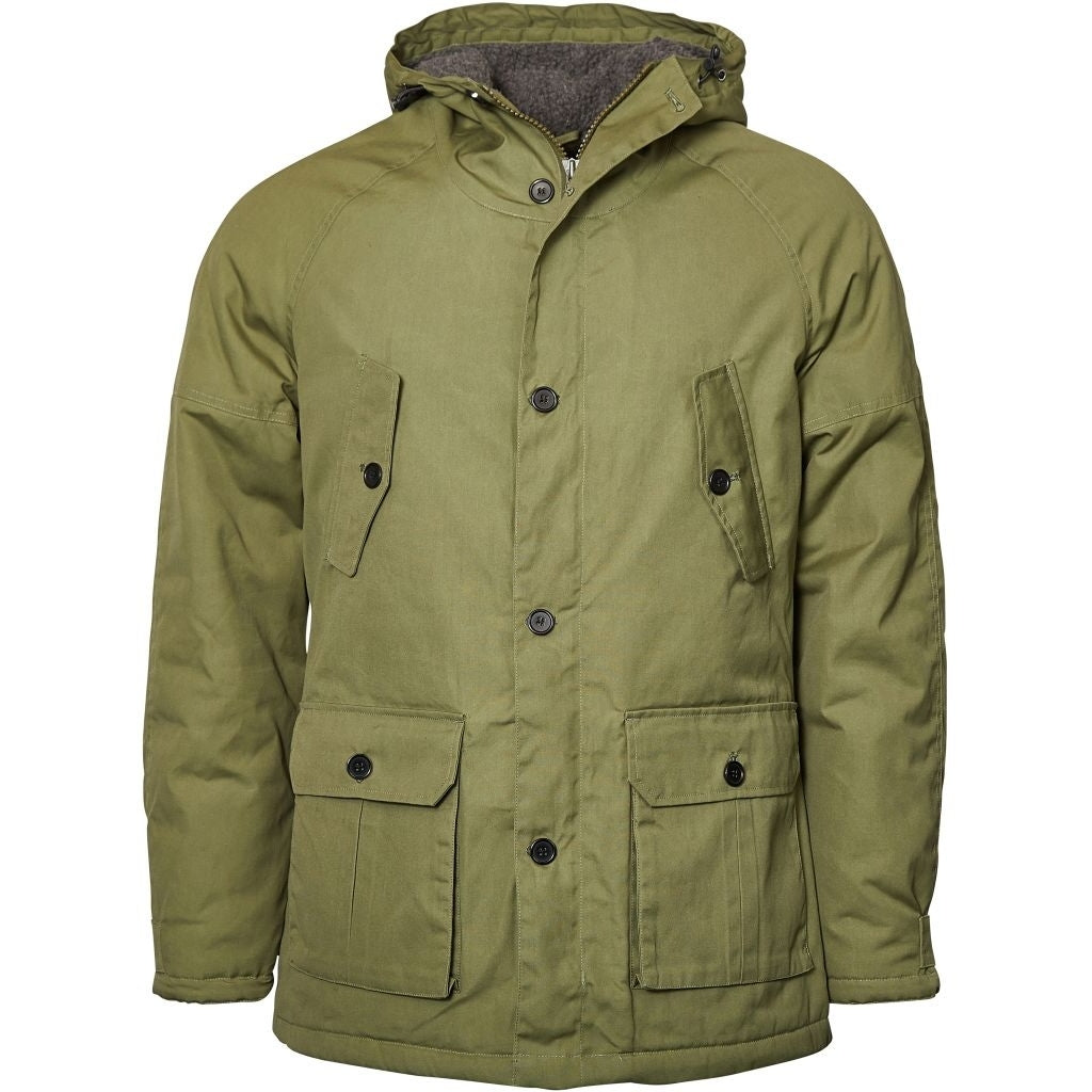North 56°4 / Replika Jeans (Big & Tall) REPLIKA JEANS Parka Jacket 0661 Winter Olive