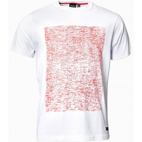 North 56°4 / Replika Jeans (Regular) REPLIKA JEANS Printed t-shirt T-shirt 0000 White