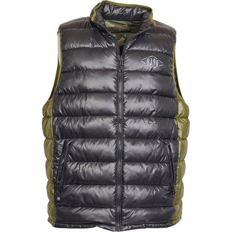 North 56°4 / Replika Jeans (Big & Tall) REPLIKA JEANS Reversible vest Vest 0099 Black
