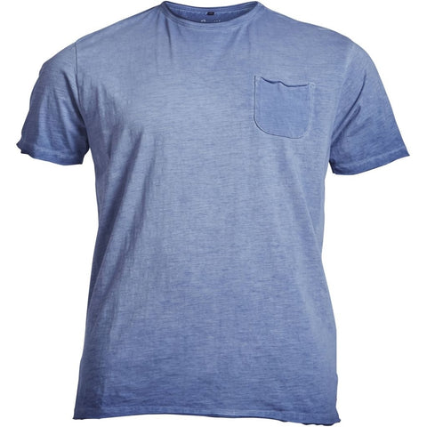 ALLSIZE REPLIKA JEANS Rough tee T-shirt 0589 Orient Blue