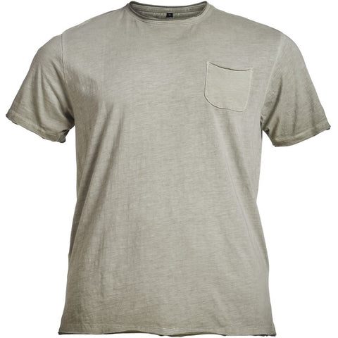 ALLSIZE REPLIKA JEANS Rough tee TALL T-shirt 0735 Khaki