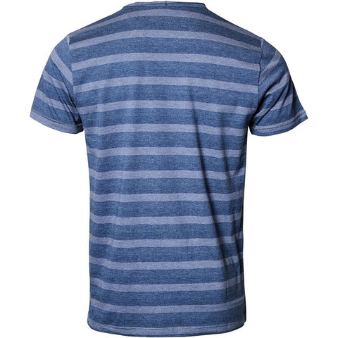 North 56°4 / Replika Jeans (Big & Tall) REPLIKA JEANS Striped t-shirt T-shirt 0555 Blue Melange