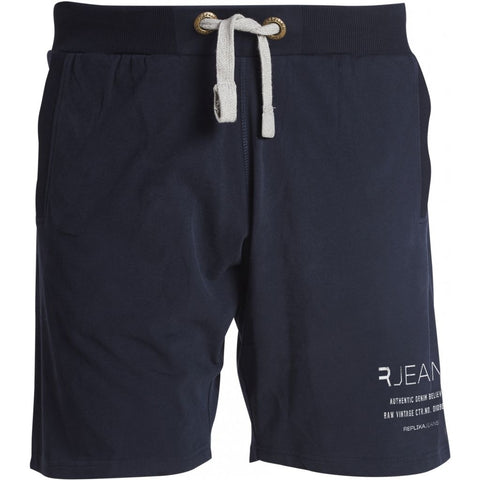North 56°4 / Replika Jeans (Big & Tall) REPLIKA JEANS Sweat shorts Shorts 0580 Navy Blue