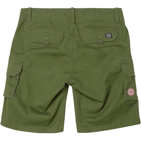 North 56°4 / Replika Jeans (Big & Tall) REPLIKA JEANS camouflage cargo shorts Shorts 0670 Army Green