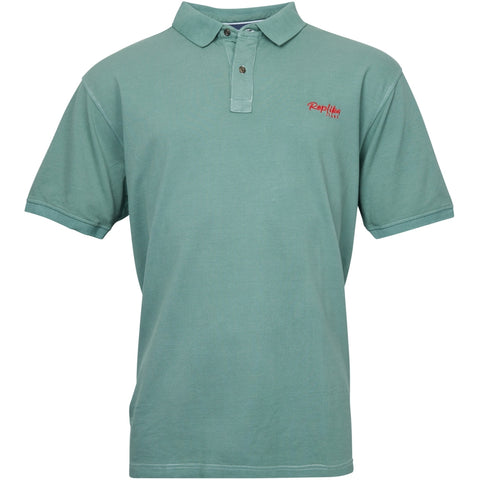 North 56°4 / Replika Jeans (Big & Tall) REPLIKA JEANS Polo w/ contrast logo Polo SS 0615 Jade