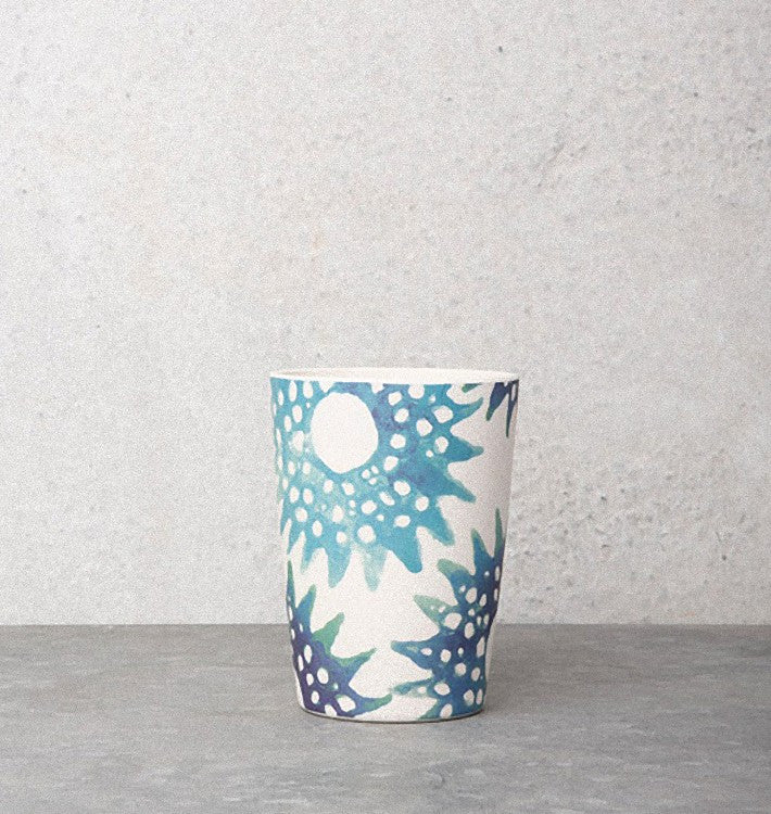 Tumbler Hawain Allover Urchin - Bamboo - Urban Nature Culture