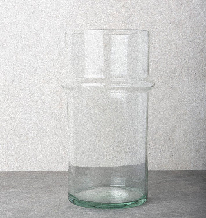 Recycled Handmade Glass - Vase (3500 ml) - Urban Nature Culture