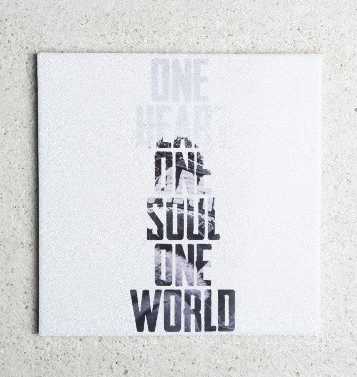 Ceramic Coaster, One Soul, in gift pack - Urban Nature Culture