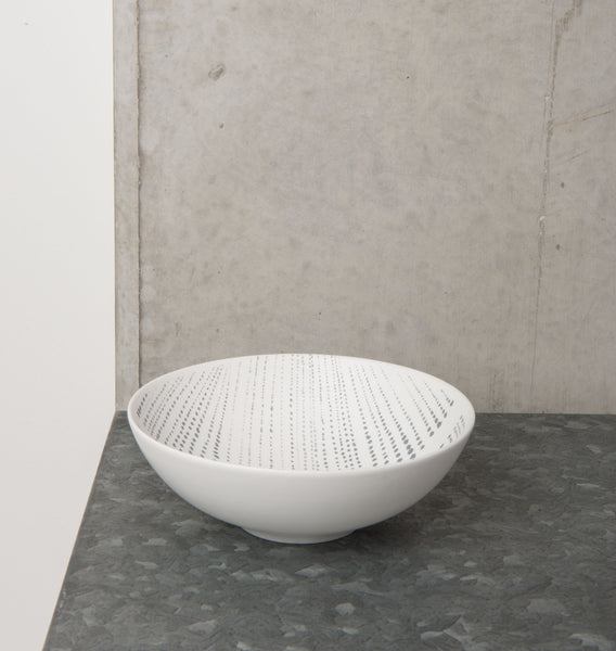 bowl ruka stripe porcelain