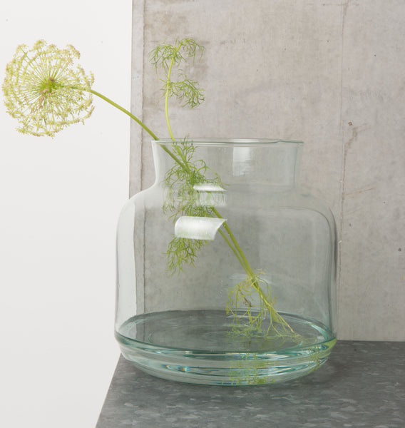 Recycled Glass Vase - Urban Nature Culture