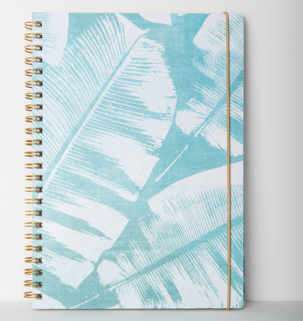 notebook palmleaf recycled cotton paper