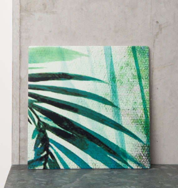 Ceramic Coaster - Palm Tree - Urban Nature Culture