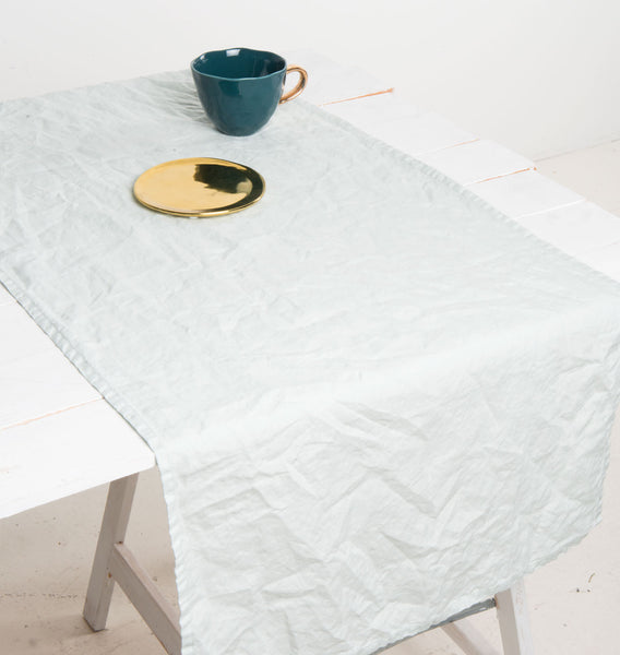 Tablerunner Linen - Celadon - Urban Nature Culture