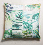 floorcushion palm tree cotton