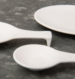 spoon ceramic extra small porcelain