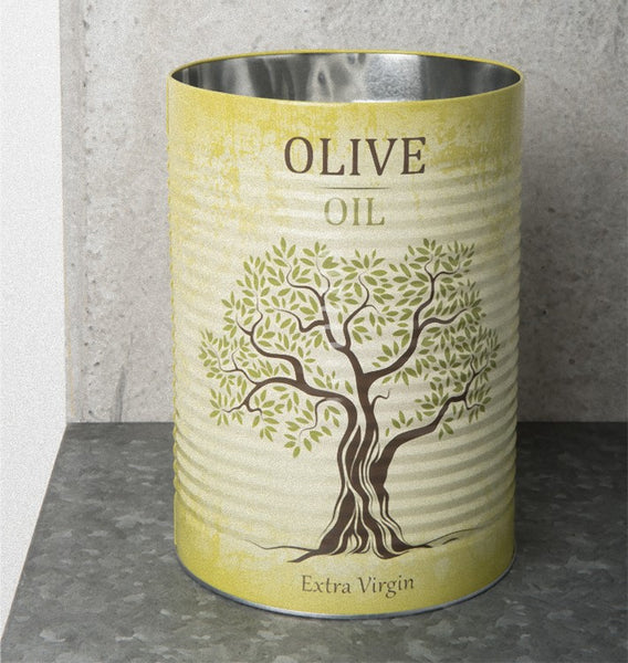 Storage Canister Tin - Olive Oil - Urban Nature Culture