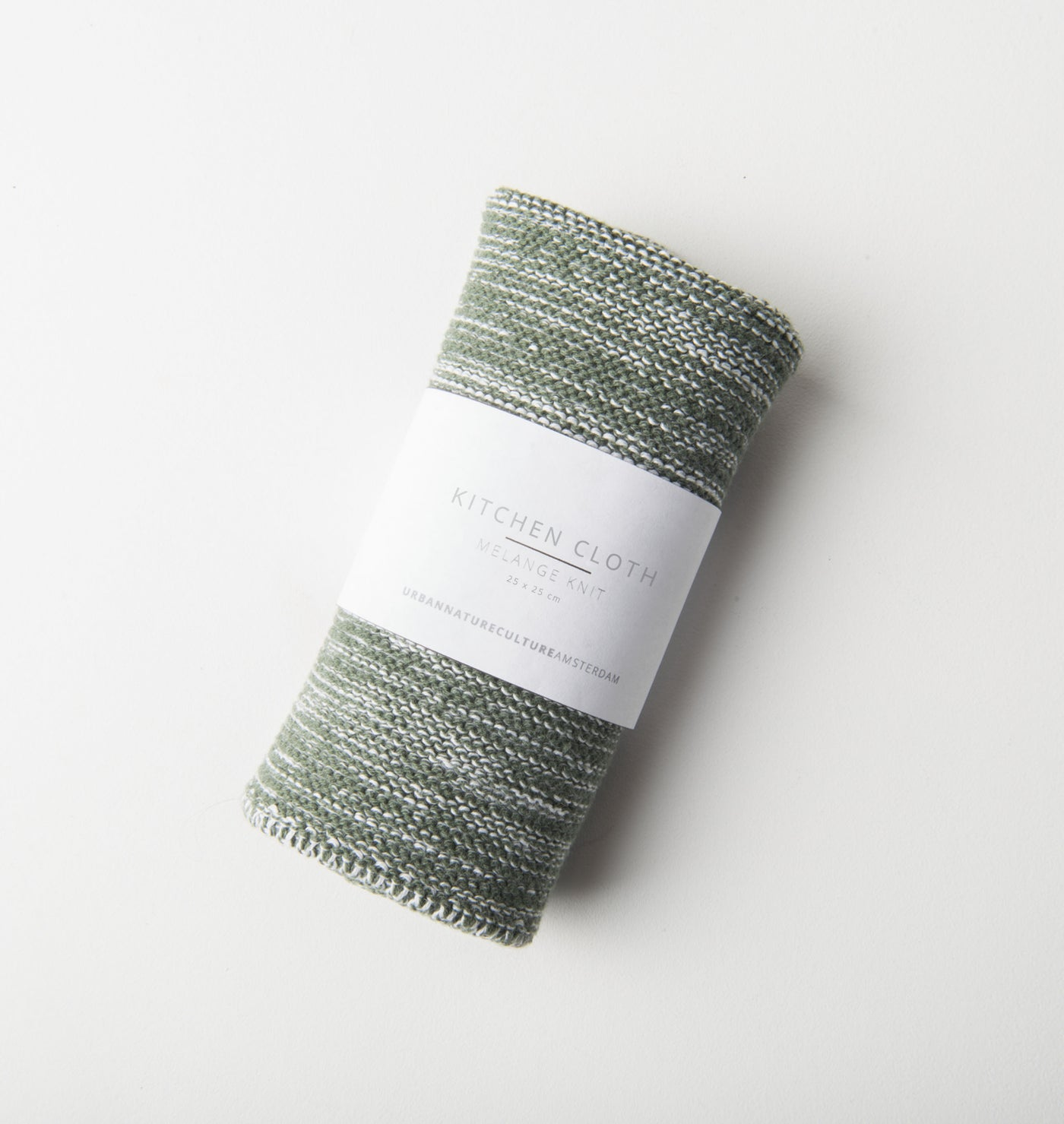 Kitchen Cloth Melange Knit - Nature Green - Urban Nature Culture