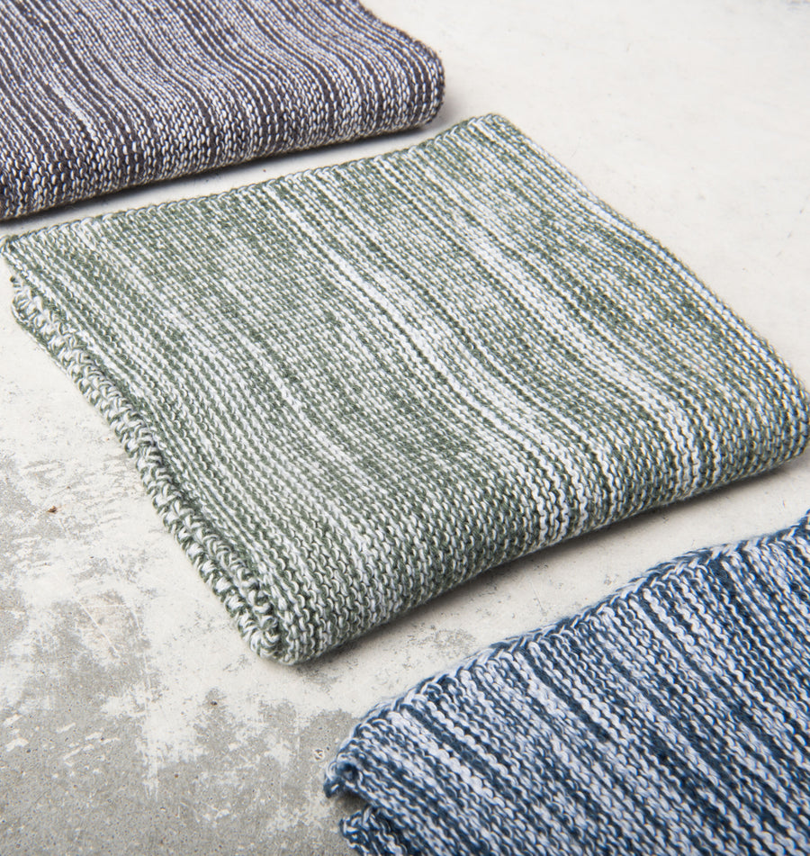 Kitchen Cloth Melange Knit - Indian Teal - Urban Nature Culture