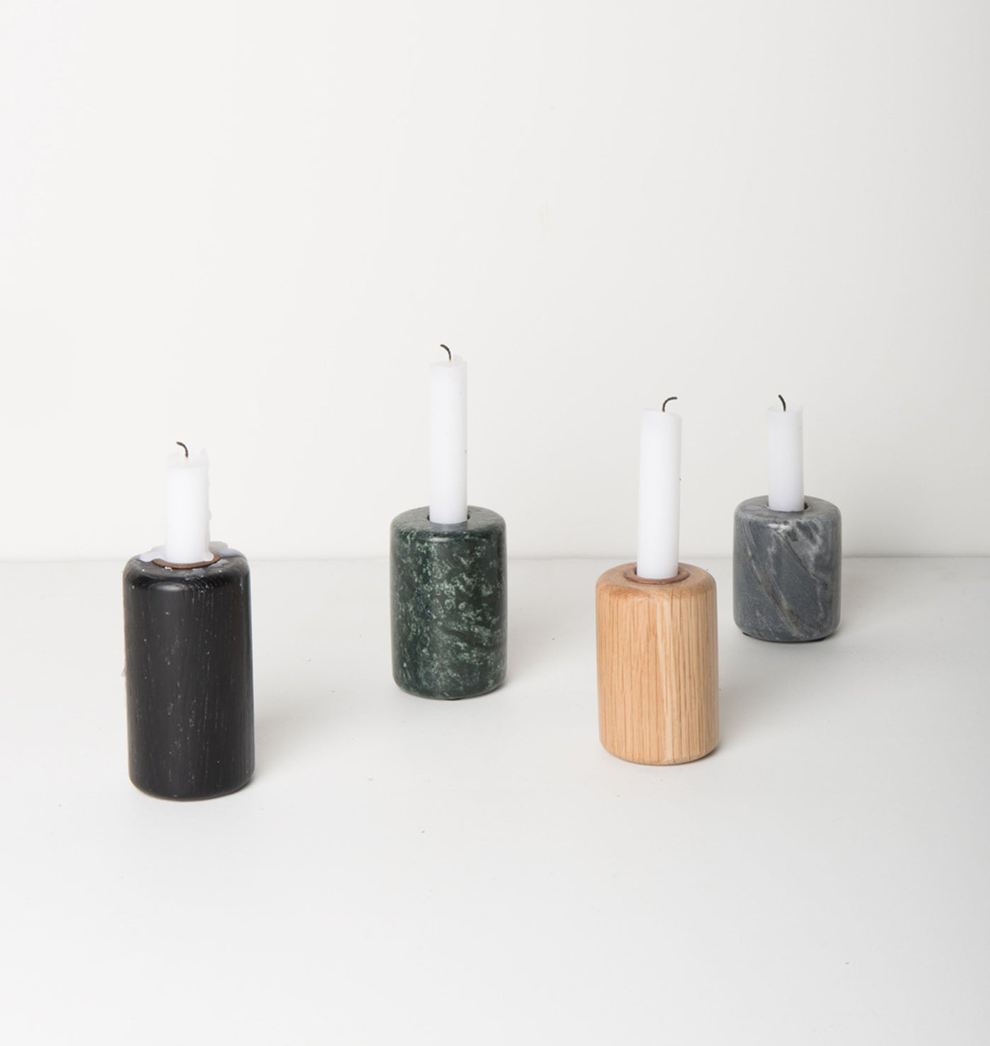 Candle Holder - Marble Green - Urban Nature Culture