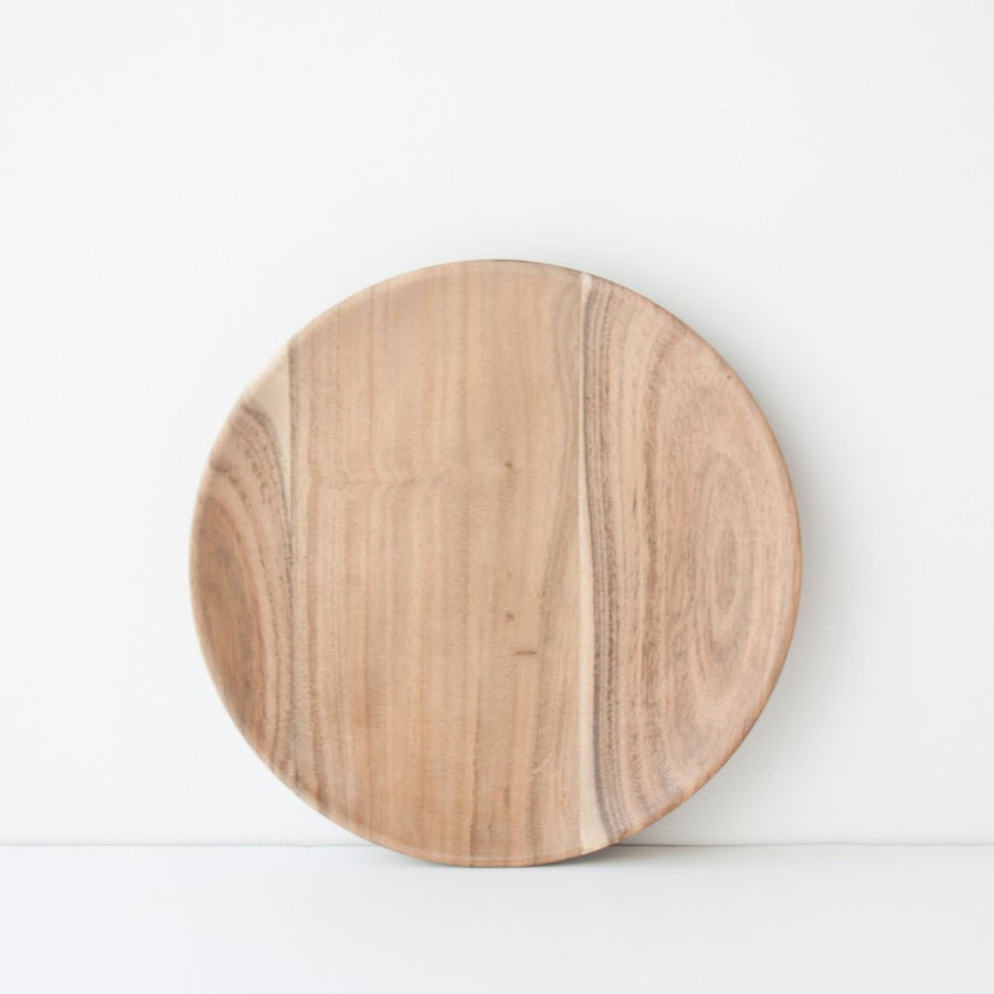 Plate Acacia Wood - Ø23 cm - Urban Nature Culture