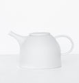 Tea pot urban clay white - Urban Nature Culture