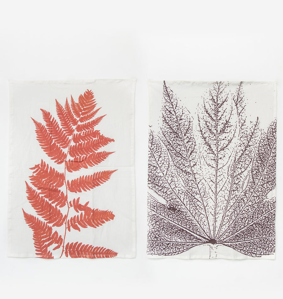 Tea towel set of 2 - Nature - Urban Nature Culture