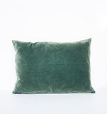 Cushion - Vintage velvet silver pine - Urban Nature Culture