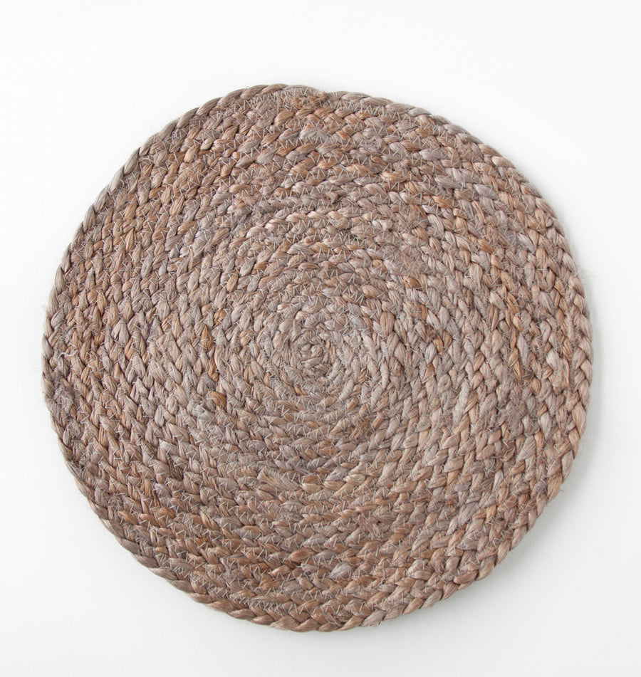 Placemat round - Jute cinder - Urban Nature Culture