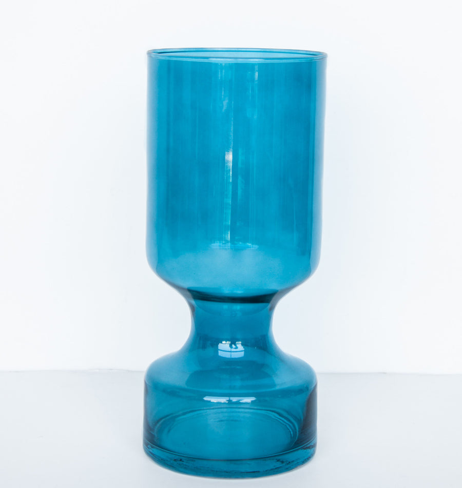 Vase glass boogie nights - Colonial blue - Urban Nature Culture