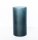 Vase recycled glass matt - Graystone