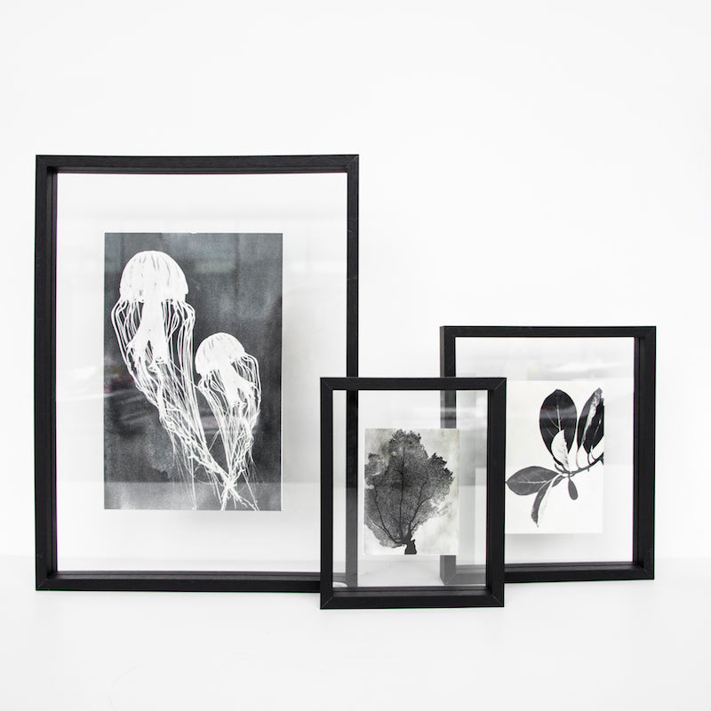 Photo frame floating - Big black - Urban Nature Culture