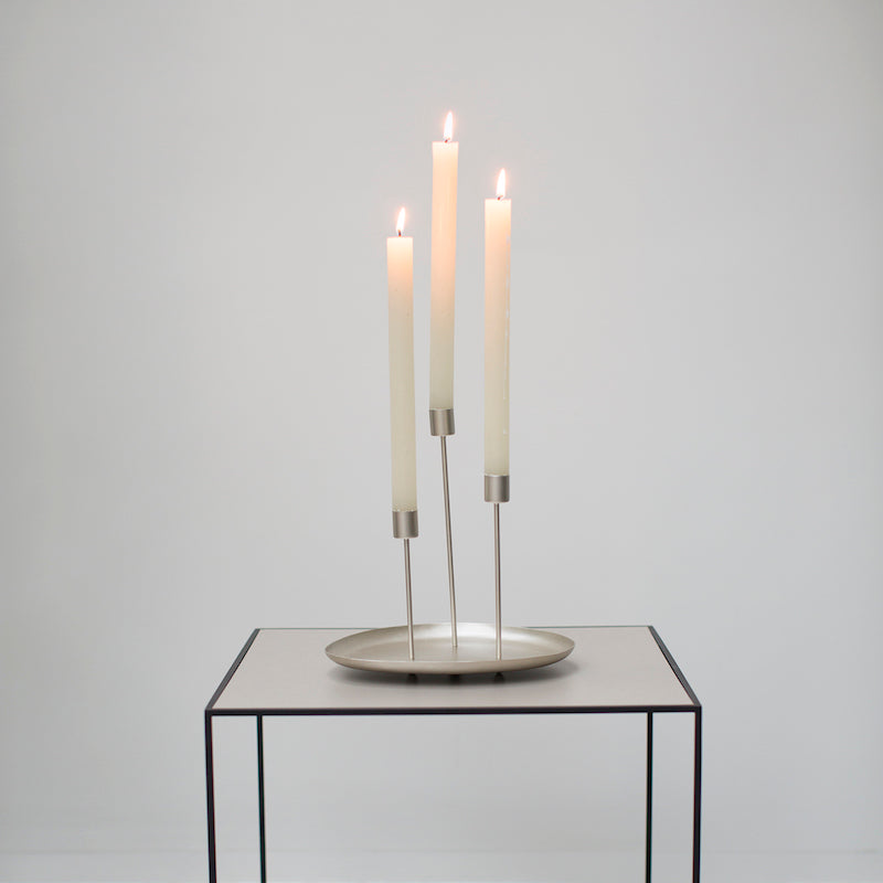 Candle holder for 3 - Iron eye - Urban Nature Culture