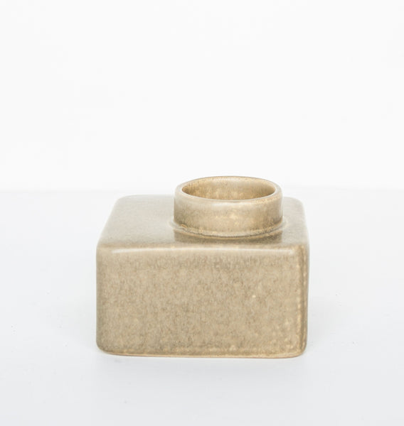 Wax Light Holder Stone Beige - Urban Nature Culture