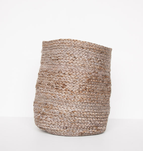 Jute Basket small - Cinder - Urban Nature Culture