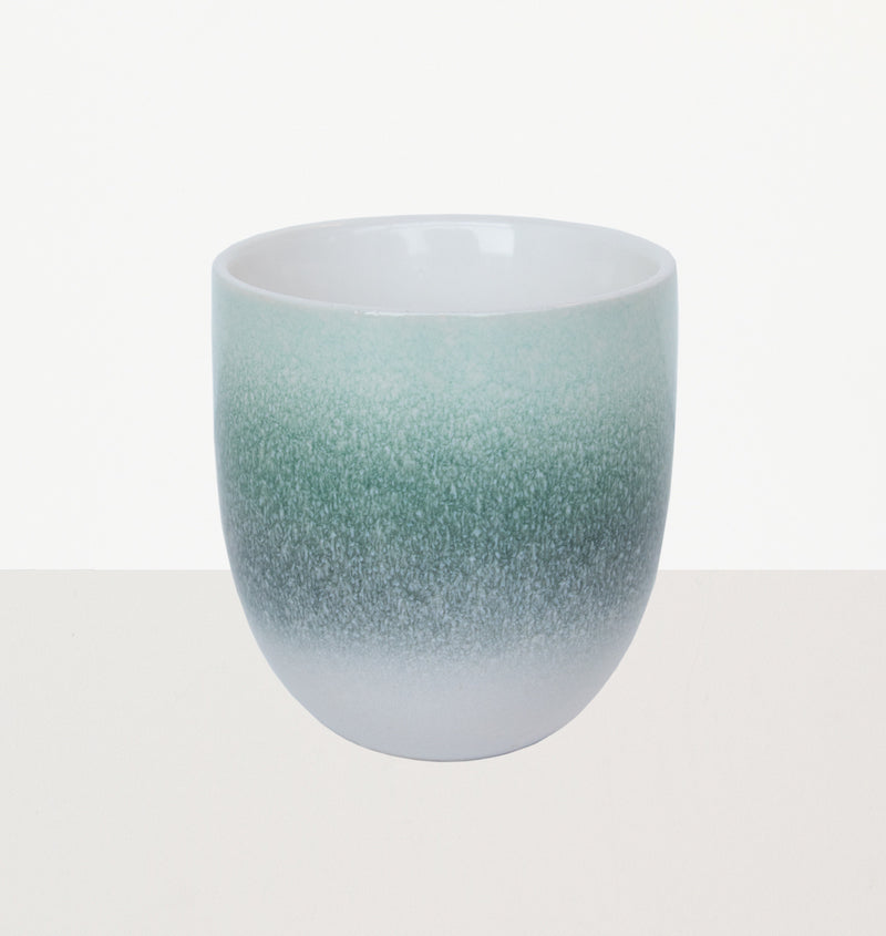Mug reactive glaze Green foam - Urban Nature Culture