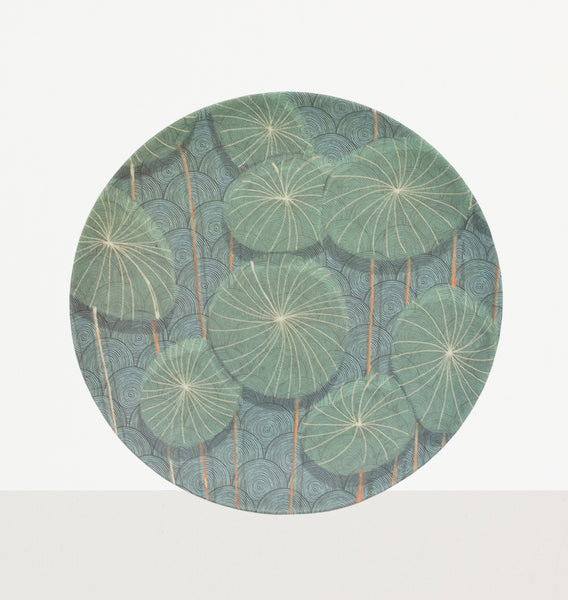 Nymphaea Bamboo Plate - Urban Nature Culture