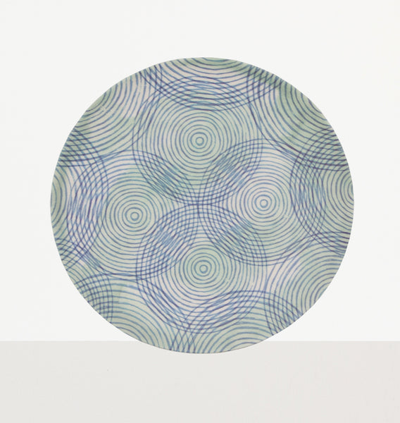 Plate Bamboo Colourful Circles - Urban Nature Culture