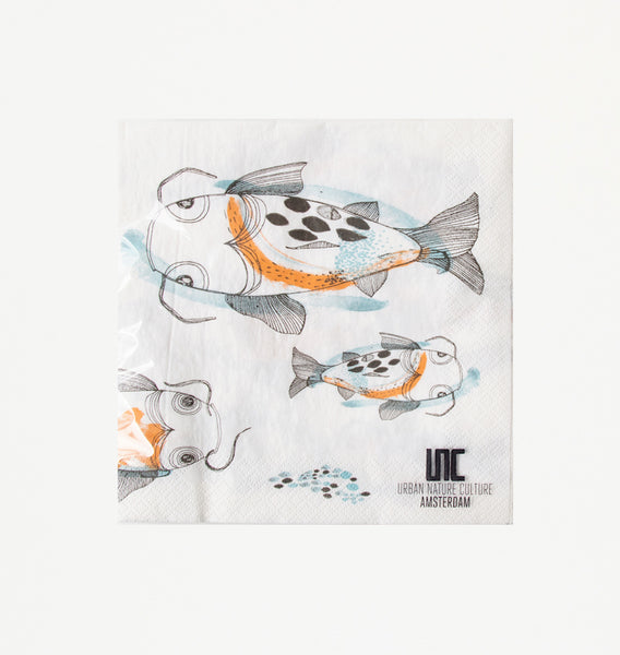 Napkin Fish Koi - Urban Nature Culture