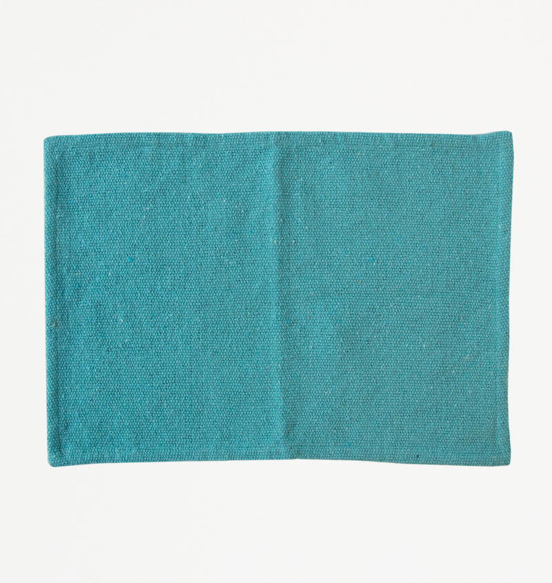 Canal Blue Recycled Cotton Placemat - Urban Nature Culture
