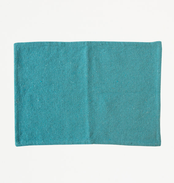 Placemat recycled cotton canal blue - Urban Nature Culture