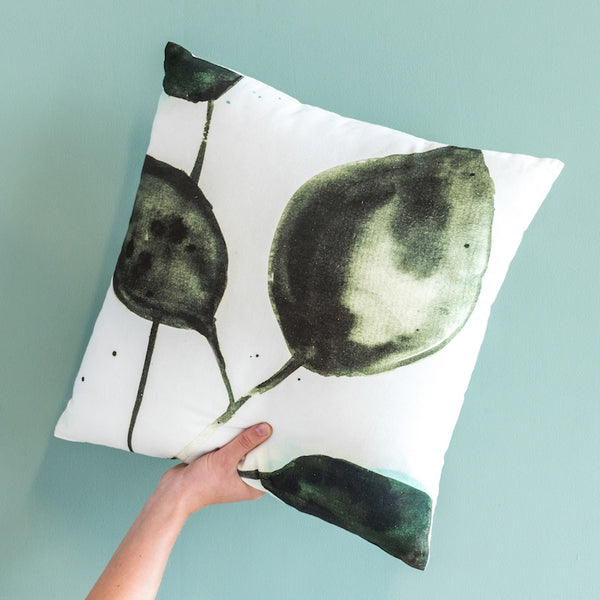 Leafs Cushion (XL) - Urban Nature Culture