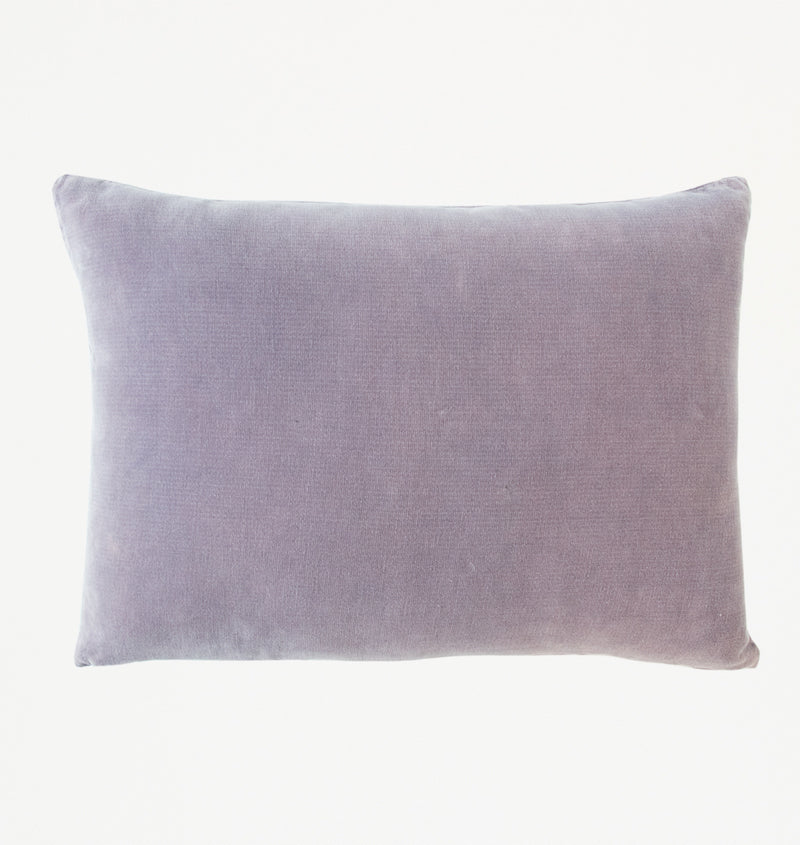 Cushion Vintage velvet purple ash - Urban Nature Culture