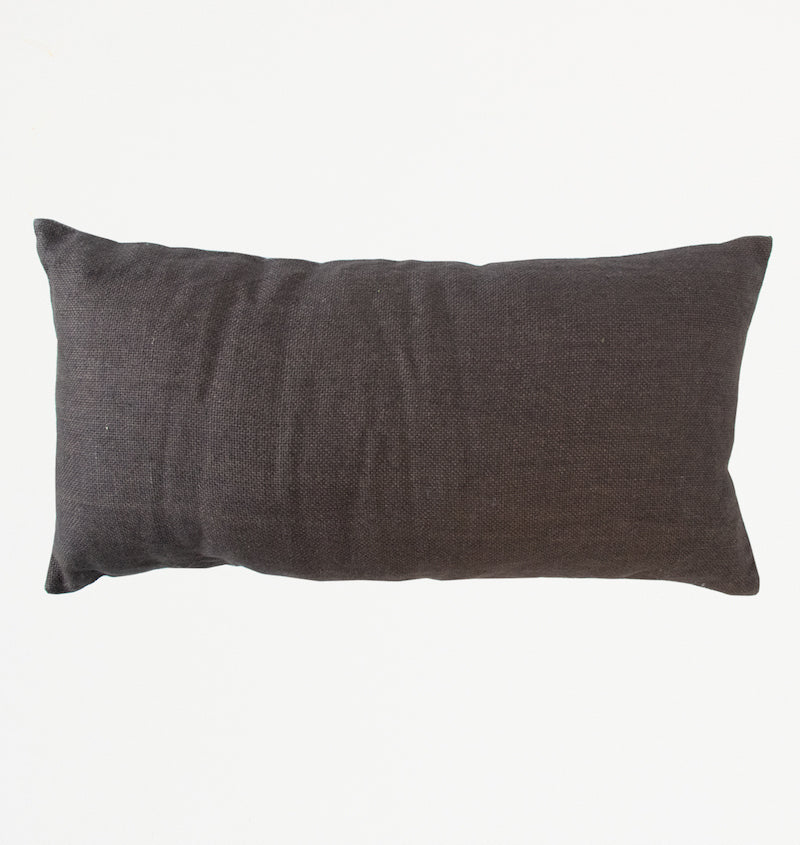 Cushion Jute slate black - Urban Nature Culture