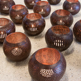 Coconut Shell Candle Holder - Urban Nature Culture