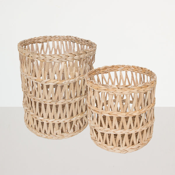 Basket Banana Leafs, Set of 2 - Urban Nature Culture