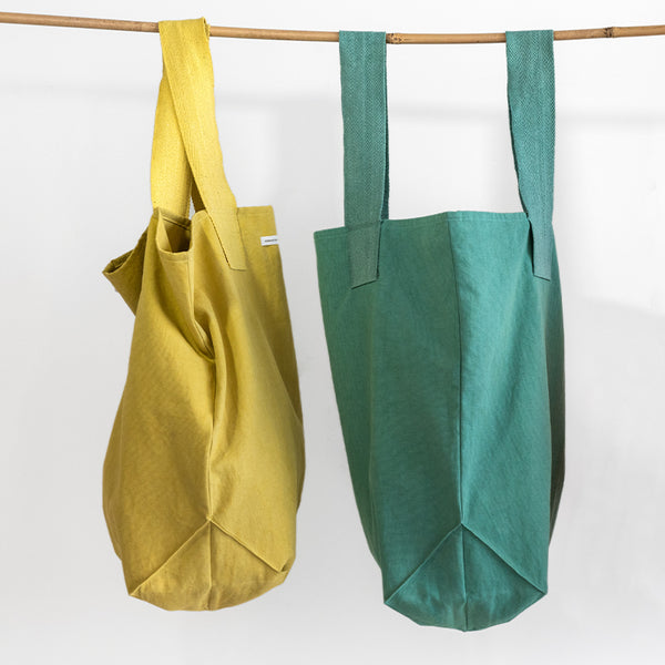 Malachite Green Shopper Bag - Urban Nature Culture