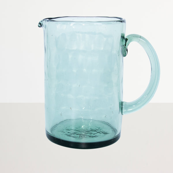 Jug recycled glass Ocean - Urban Nature Culture