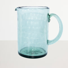 Jug recycled glass Ocean