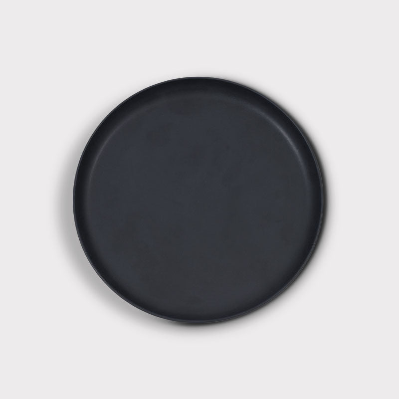 Plate Brooklyn Black 22cm - Urban Nature Culture
