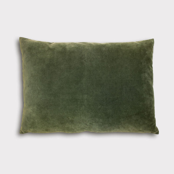 Cushion Vintage Velvet -  Kombu Green - Urban Nature Culture